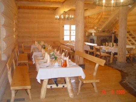Przykładowa dekoracja stołów